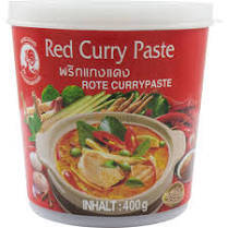 Cock Brand Red Curry Paste 400 g