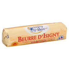 Isigny Sainte-Mere Gesalzene Rollenbutter Beurre D'Isigny 250 g