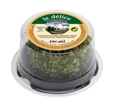 Fromi Le Delice ail et fines herbes 110g