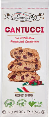 Cantucci mit Cranberries 200 g